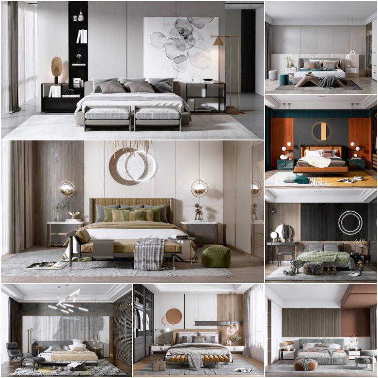 Bedroom vol2 2021 3d model