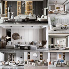 Sofa vol1 2021 3d model