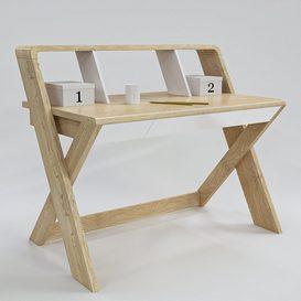Study Desk 3d model Download  Buy 3dbrute