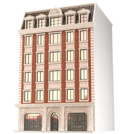 Classic building 3d model Download  Buy 3dbrute