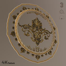 Super Ornament Vol 01 3d model Download  Buy 3dbrute