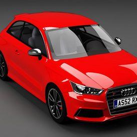 Audi S1 3d model Download  Buy 3dbrute