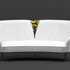 Sofa Luxury 3d model Download  Buy 3dbrute