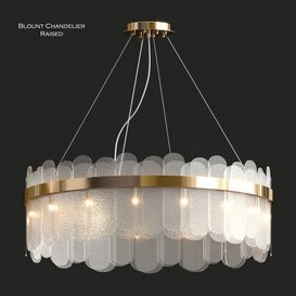 Blount Chandelier Raised 3d model Download  Buy 3dbrute