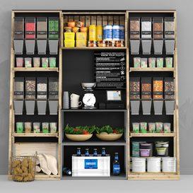Grocery Store 3d model Download  Buy 3dbrute