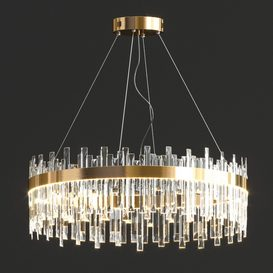 Crystal Round Chandelier 3d model Download  Buy 3dbrute