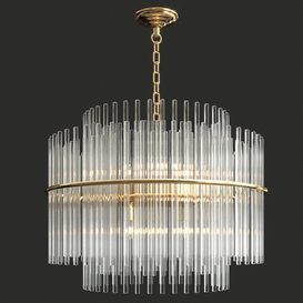 FUMAT Glass Chandelier 3d model Download  Buy 3dbrute