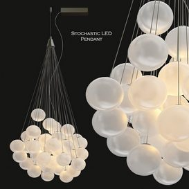 Stochastic LED Pendant Light by Luceplan 3d model Download  Buy 3dbrute
