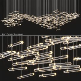 Drift Flylight Chandelier 2 3d model Download  Buy 3dbrute