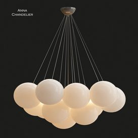 Anna Chandelier 3d model Download  Buy 3dbrute