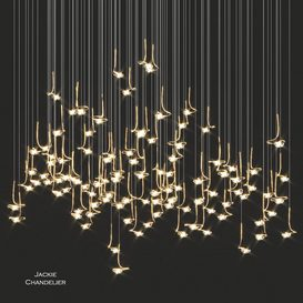 Catellani & Smith Jackie Chandelier 3d model Download  Buy 3dbrute