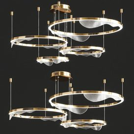Hanna B Ring Chandelier 3d model Download  Buy 3dbrute