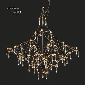 Quasar Mira Chandelier 3d model Download  Buy 3dbrute
