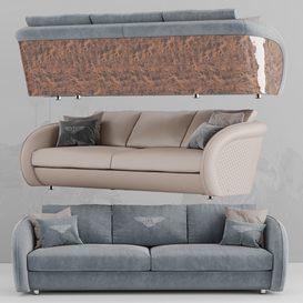Beaumont Sofa 3d model Download  Buy 3dbrute