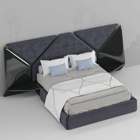 bed design 3d model Download  Buy 3dbrute