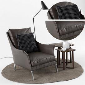 Boss Armchair 3d model Download  Buy 3dbrute
