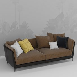 Bretagne sofa 01 3d model Download  Buy 3dbrute