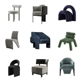 Chair vol1 2021 3d model Download  Buy 3dbrute