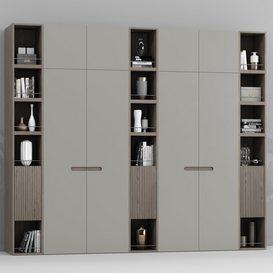 Contemporary wardrobe 3d model Download  Buy 3dbrute