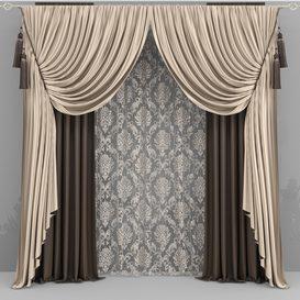 Curtains 3d model Download  Buy 3dbrute