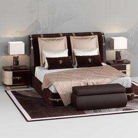 Diamonds Bed 3d model Download  Buy 3dbrute
