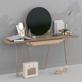 dressing table 3d model Download  Buy 3dbrute