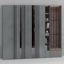 Furniture composition 1 3d model Download  Buy 3dbrute