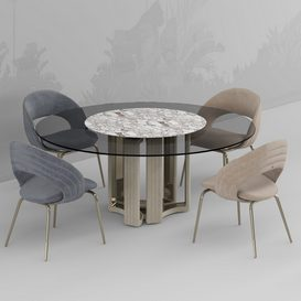 Kylo chair and table 3d model Download  Buy 3dbrute