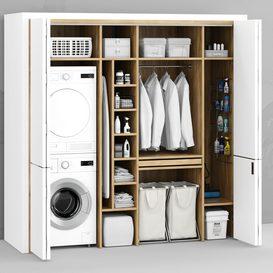 Laundry 3d model Download  Buy 3dbrute