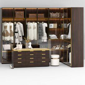 Luxury Wardrobe 001 3d model Download  Buy 3dbrute