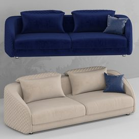 melrose sofa 3d model Download  Buy 3dbrute