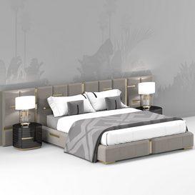 NEW BED DESIGN 001 3d model Download  Buy 3dbrute