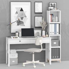 office workplace 3d model Download  Buy 3dbrute