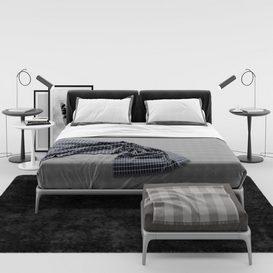 Park Bed 3d model Download  Buy 3dbrute