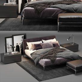 Park Uno Bed 3d model Download  Buy 3dbrute