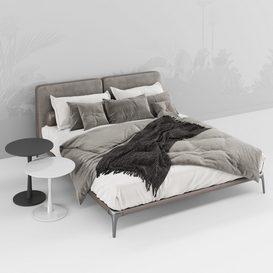 Park Uno Bed B 3d model Download  Buy 3dbrute