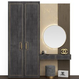 bedroom furniture 3d model Download Buy 3dbrute