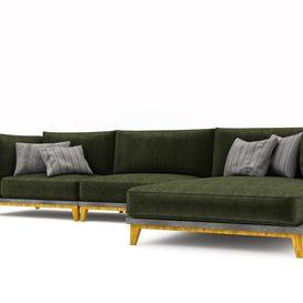 sofa 3d model Download  Buy 3dbrute