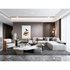 Sofa 02 3d model Download  Buy 3dbrute