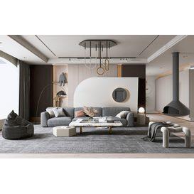 Sofa 06 3d model Download  Buy 3dbrute