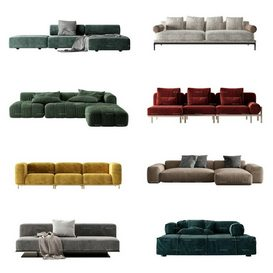 Sofa vol2 2021 3d model Download  Buy 3dbrute