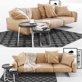 Soft Dream Sofa 3d model Download  Buy 3dbrute