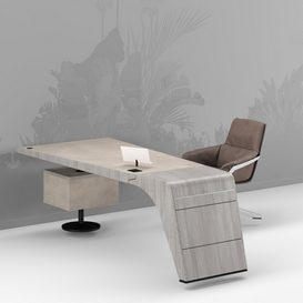 Tenet Table and Jab Bond Chair 3d model Download  Buy 3dbrute