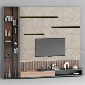 TV shelf 3d model Download  Buy 3dbrute