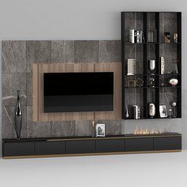 Tv zone 3d model Download  Buy 3dbrute