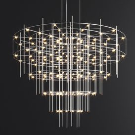 Spy Quasar Chandelier 3d model Download  Buy 3dbrute