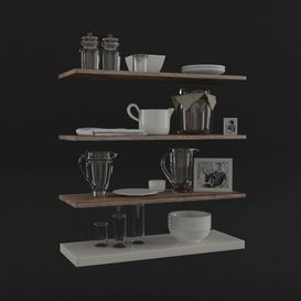 OGGETTI CUCINA 3d model Download  Buy 3dbrute