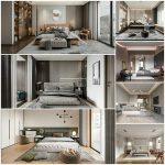 Bedroom vol8 2021 3d model Download  Buy 3dbrute