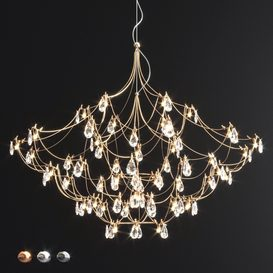 Crystal Galaxy Quasar Chandelier 3d model Download  Buy 3dbrute