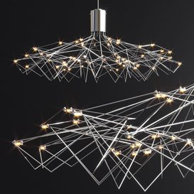 Bezhko Ballet 800 Chandelier 3d model Download  Buy 3dbrute